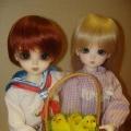 Куклы в винтажных костюмах